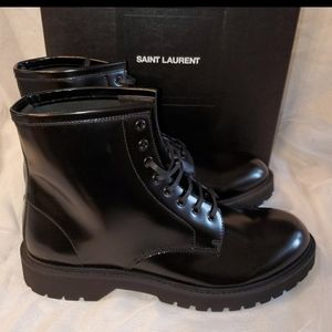 Ysl army boots
